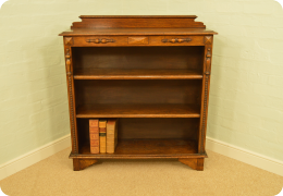 1920's Oak Bookshelves