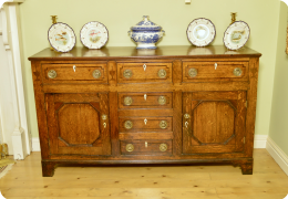 Early 19th Century Dresser base