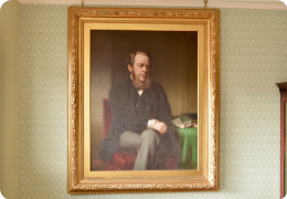 Large portrait of Viscount Cross
