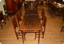 English Elm Farmhouse Table