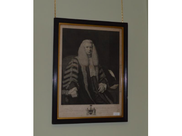 Georgian framed engraving of Lord Kenyon
