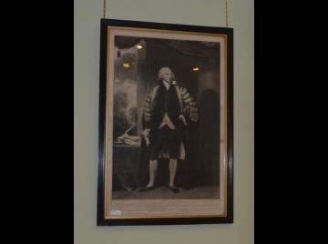 Georgian framed engraving, Right Hon. Henry Dundas