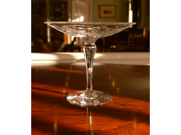 Edwardian glass comport