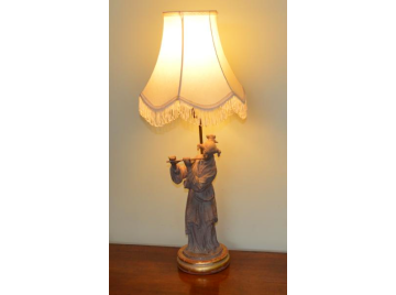 Oriental Teracotta lamp