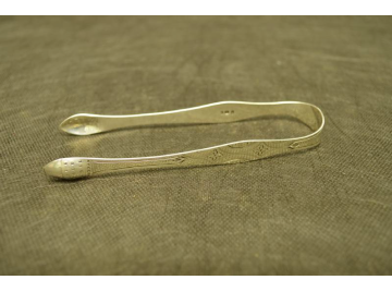 Peter and Ann Bateman silver sugar tongs