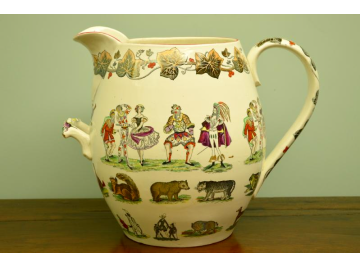 Elsmore and Forster Circus Jug