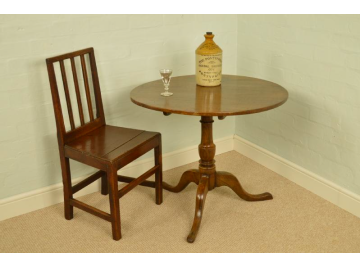 Georgian Oak Tripod Table