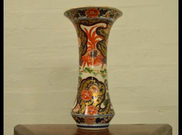 18th Century Japanese Imari Trumpet vase