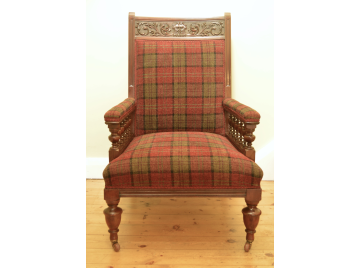 Gothic revival Fireside Chair