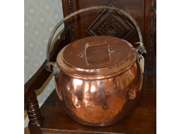 Large Copper 19th century Pot