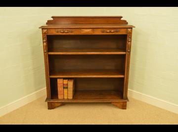 1920's Oak Bookshelves