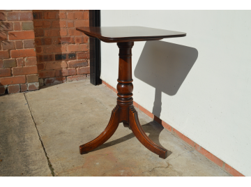 19th Century Mahogany Lamp Table