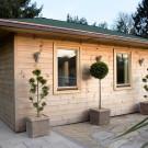 So wird eine Gartensauna gebaut