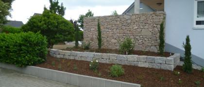 Volker Durban GaLa-Bau 77866 Rheinau Natursteinmauer