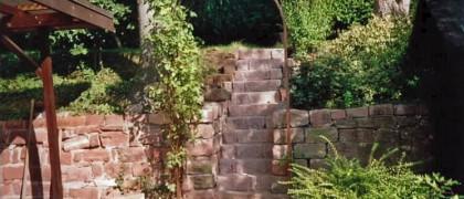 Hirschenauer Gartenservice 69483 Wald-Michelbach Treppe