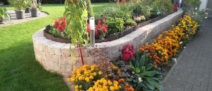 Gartengestaltung Schlegel 56346 Prath Beet