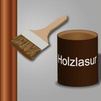 Holzlasur auftragen & Holz vor Verwitterung schützen