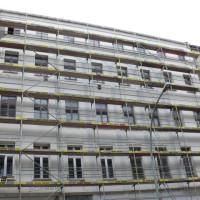 Das Rahmengerüst bei Fassadeneinrüstungen