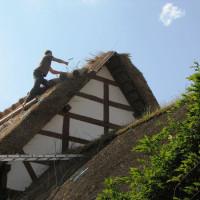 Der Beruf Reetdachdecker gehört zu einem Handwerk mit langer Tradition
