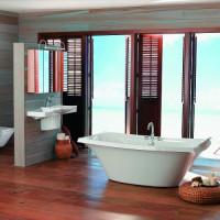 Gestaltungsmöglichkeiten ohne Fliesen für Ihr Badezimmer