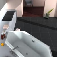 Eckbadewannen sparen Platz und überzeugen mit Zusatzfunktionen!