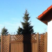 Sichtschutzzaun: Holz als Wind- und Sichtschutz