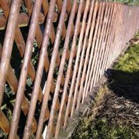 Holzzaun Schritt für Schritt bauen