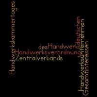 Mitglieder des Zentralverbands des deutschen Handwerks