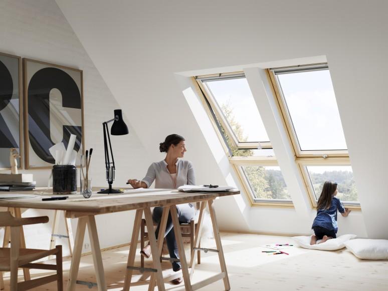 Kindersichere Dachfenster von VELUX