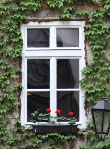 Blendrahmen an Fenster