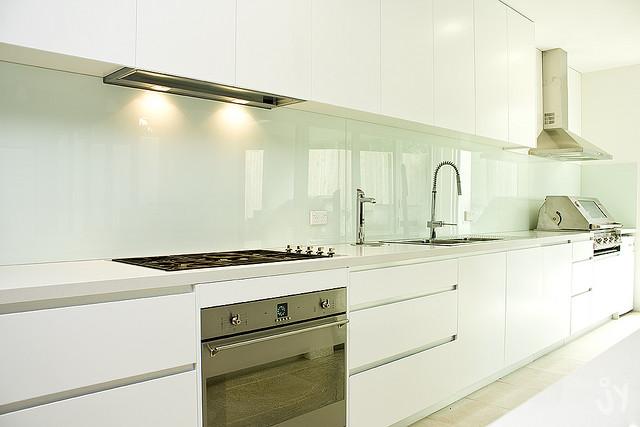 Küchenfronten Holzoptik