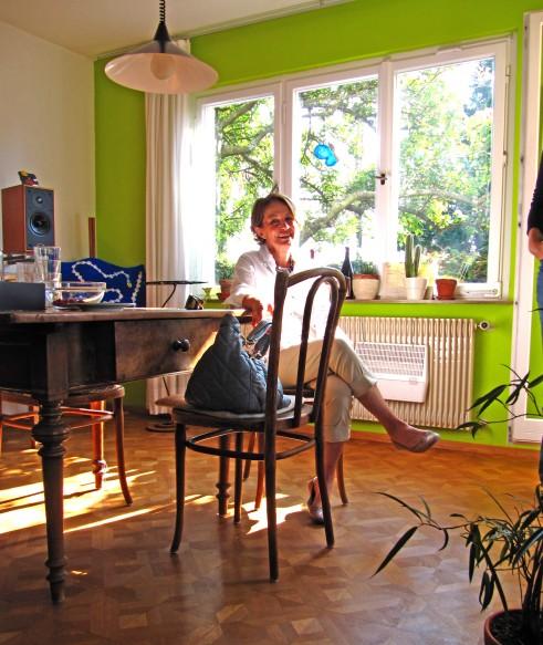 wohnraumgestaltung mit farbe