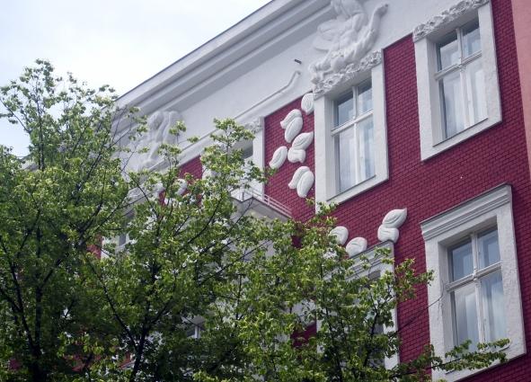 Die Fassadengestaltung ...