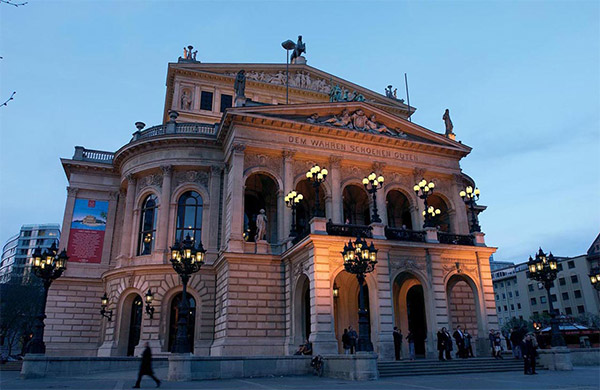 Aktuell Die Alte Oper Frankfurt Erh Lt Neues Au Engewand