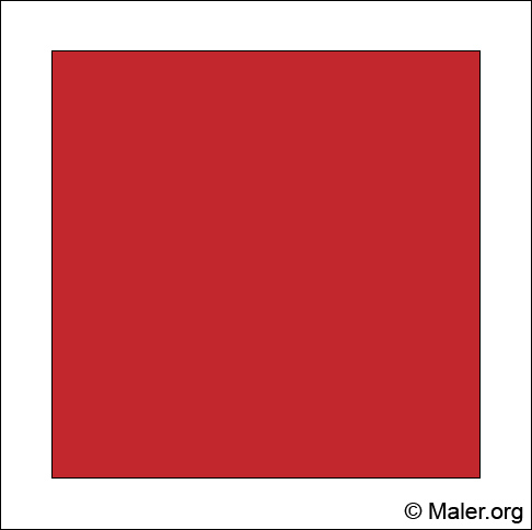 Wanddeko mit der farbe rot individuell hochwertig - Wandgestaltung rot ...