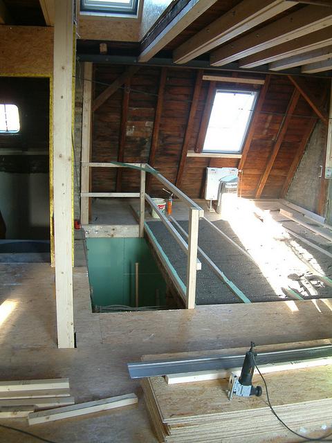 Innenausbau – Erweiterung und Umstrukturierung von Innenräumen