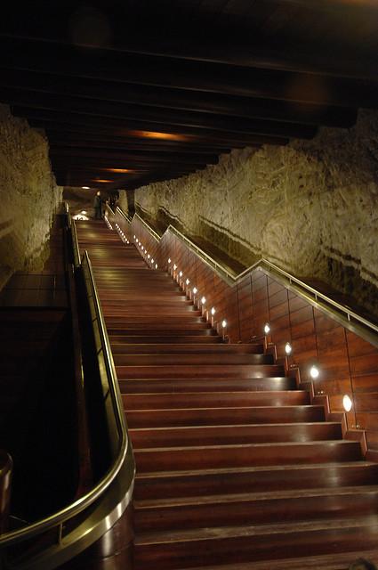 Fast jedes Haus hat heute eine Treppe