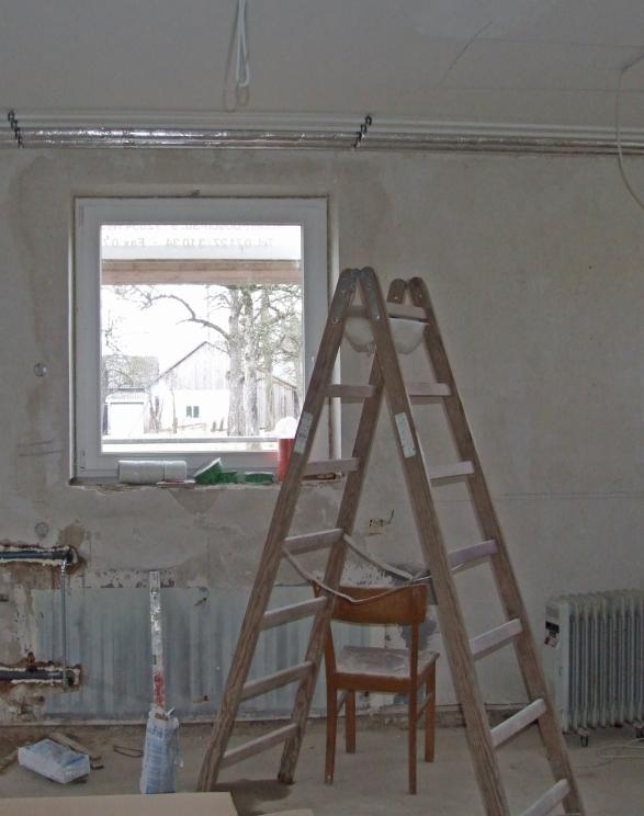 holzleiter oder aluminiumleiter geruestbau fachmagazin. Black Bedroom Furniture Sets. Home Design Ideas