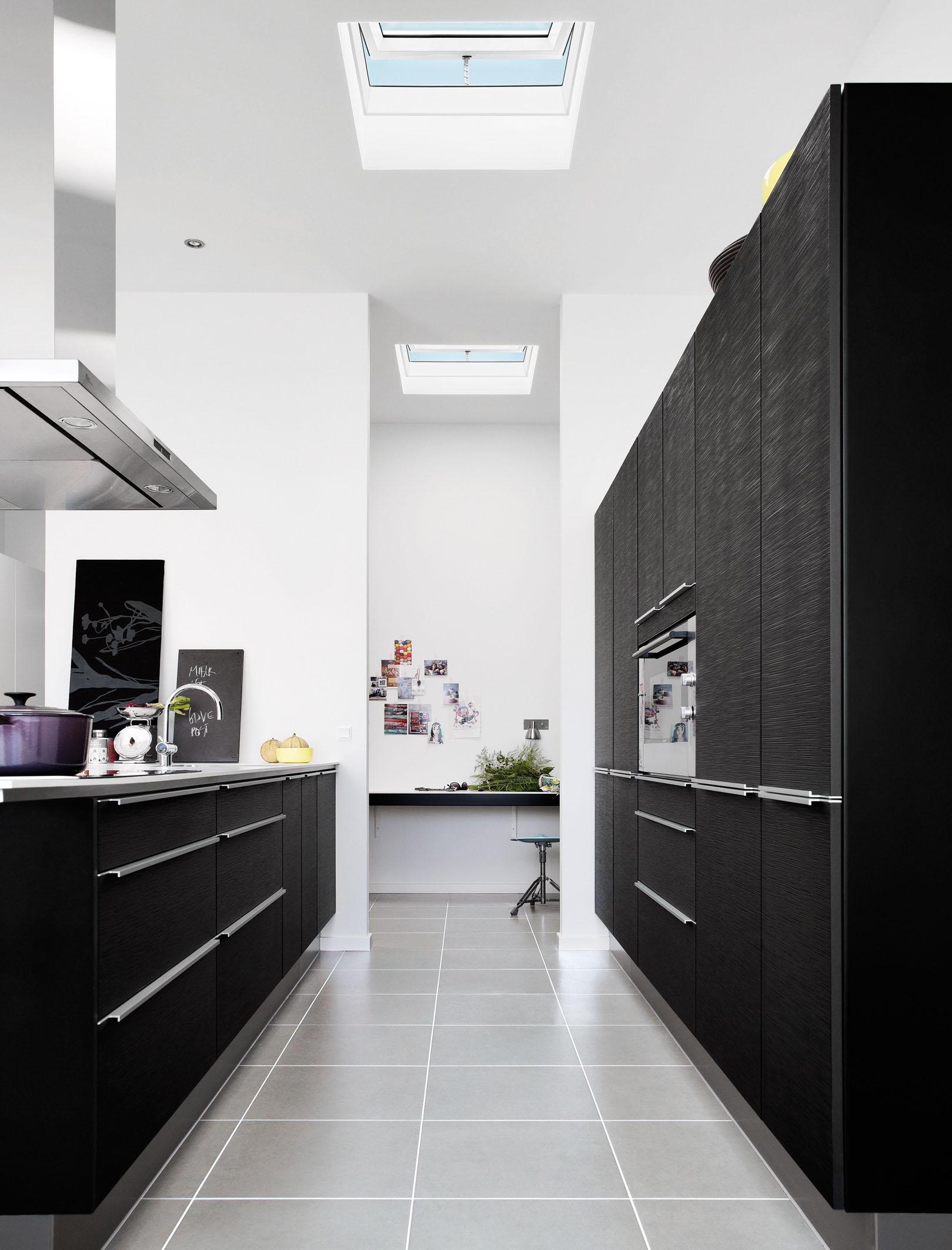 aktuell flachdach fenster velux architekten wettbewerb flachdach im fokus. Black Bedroom Furniture Sets. Home Design Ideas