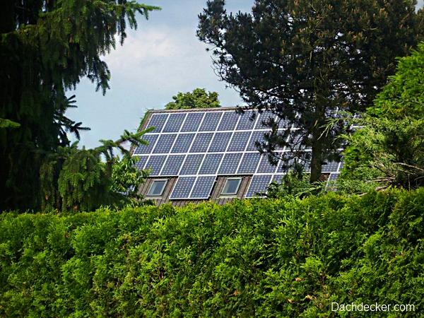 Stromerzeugung-Photovoltaik