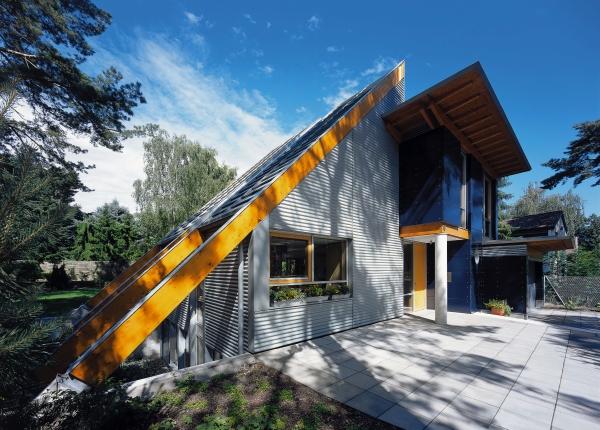 Mit dem pultdach montage energiekosten sparen - Dachformen architektur ...