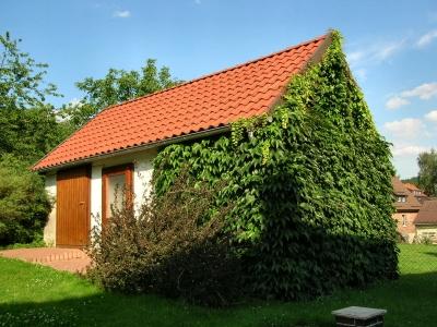 Welche dachrinne am gartenhaus - Gartenhaus aus aluminium ...