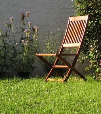edle teak-gartenmöbel für terasse und garten, Gartenmöbel
