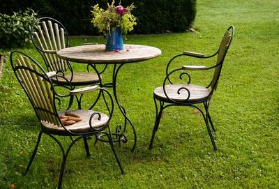 tischler-schreiner.org  Gartentisch: Rund ausgefertigt für eine ...