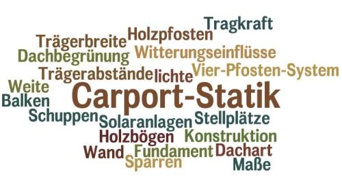 Kein einsturzrisiko mit korrekter carport statik for Statik carport