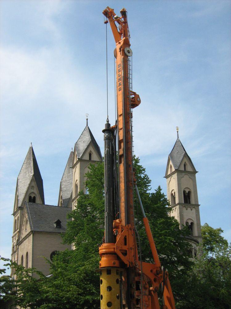 Der Bohrbrunnen ist in der Baubranche unersetzlich