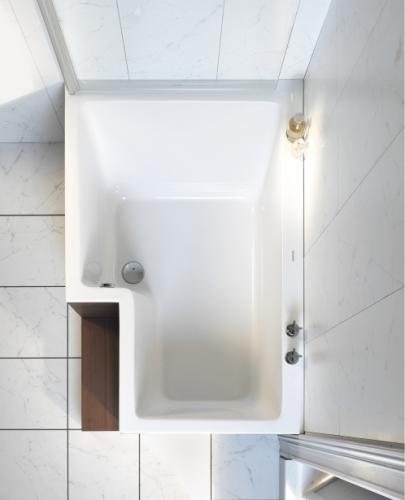 Badewanne Mit Dusche Kombiniert : Bei Einer Badewanne Mit Duschzone Ist Der Duschbereich In Die Pictures