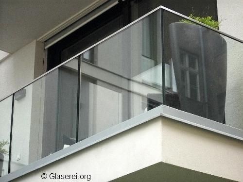 Glas Befestigung elegantes glasgeländer befestigung mithilfe verschiedener systeme