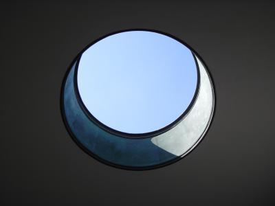 Oberlichter Flachdach runde lichtkuppeln sind und funktional zugleich