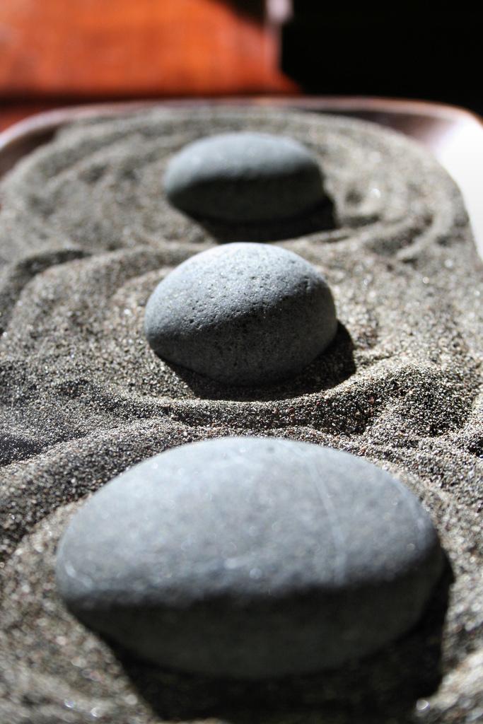 Japanischer steingarten als ort der - Japanischer steingarten ...